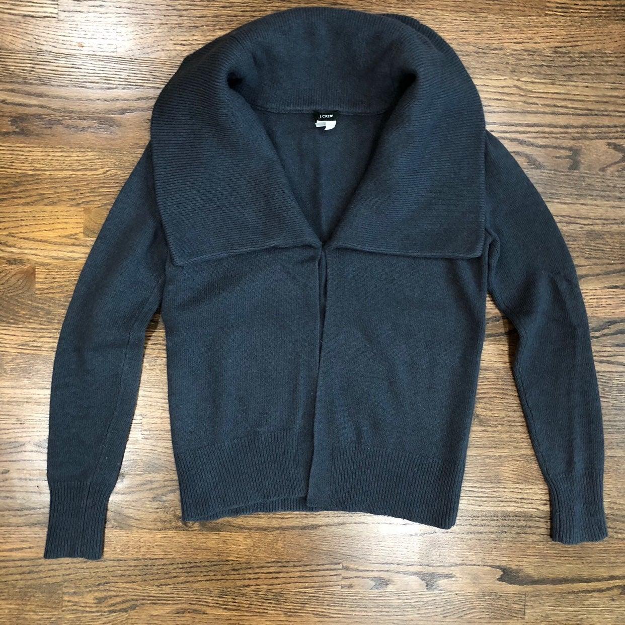 J Crew Wool/Nylon/Cashmere Blend Sweater