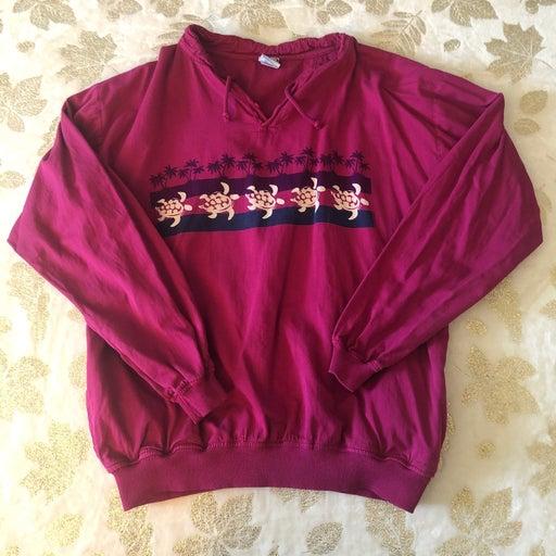 Vintage Turtle Sweatshirt