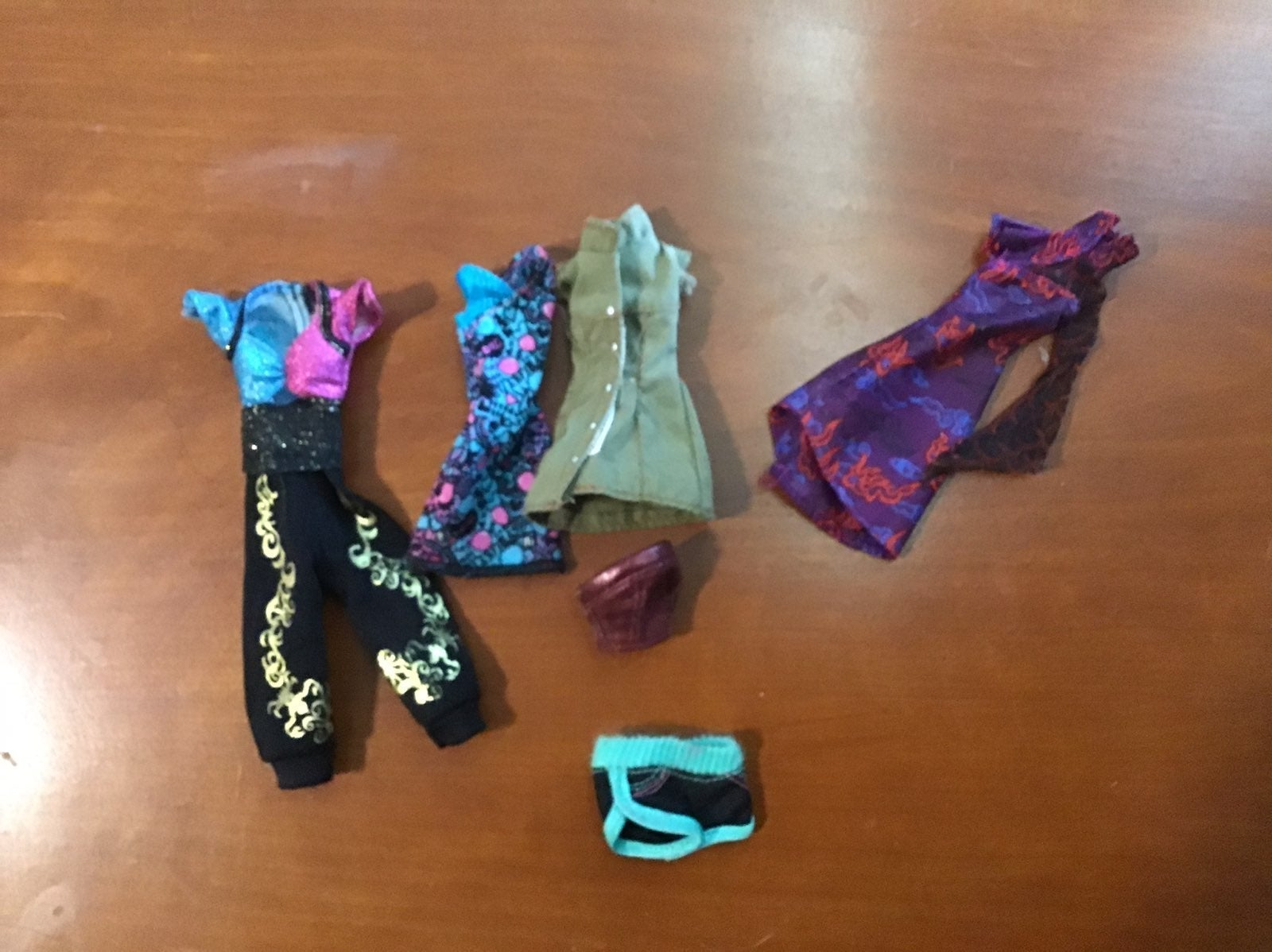 monster high doll clothes lot