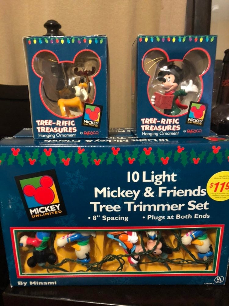 Mickey Disney Christmas ornaments