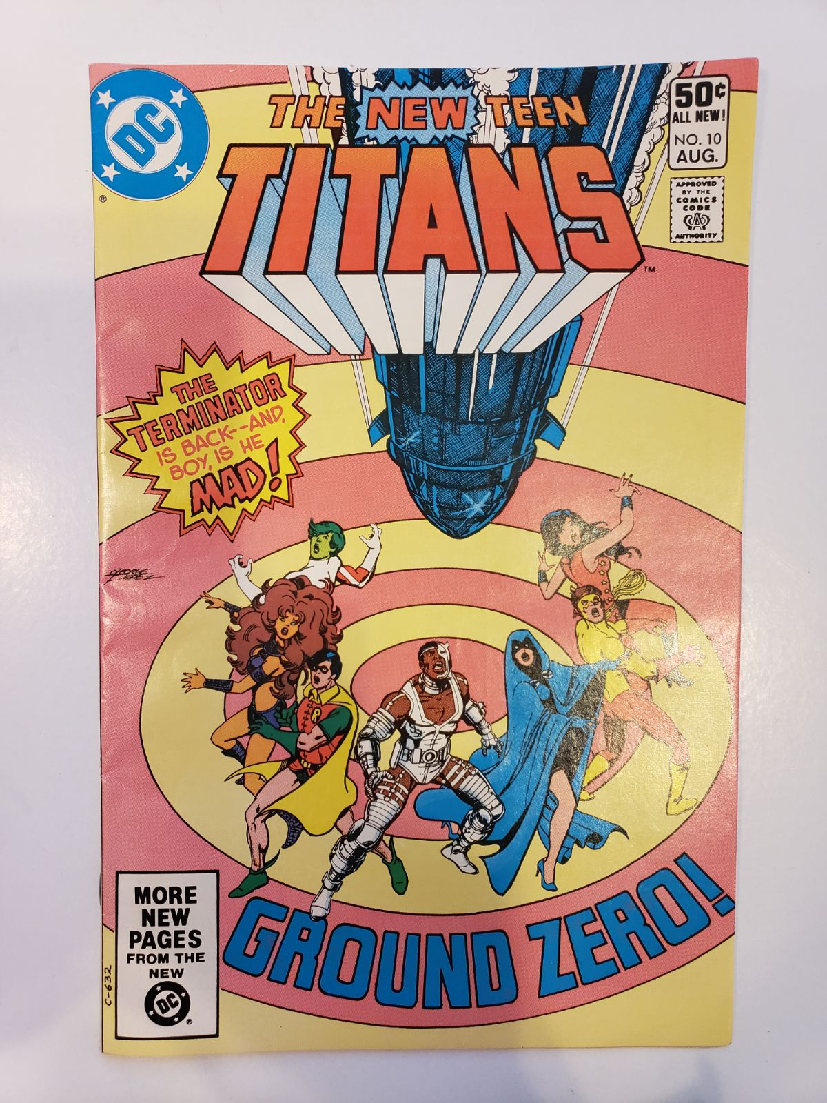 The new teen titans 10 DC 1981