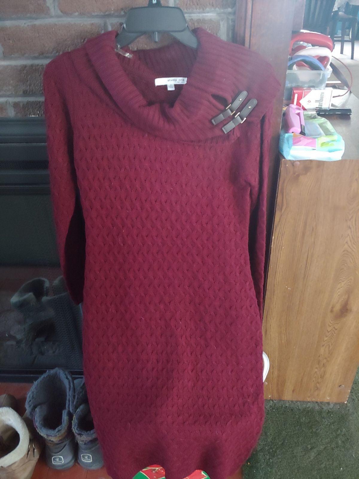 Studio One New York Sweater Dress