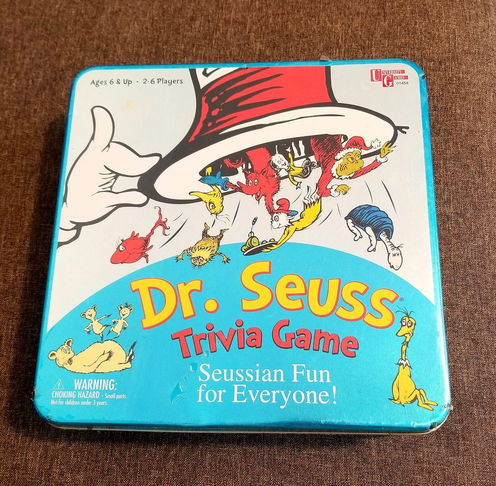 DR. SEUSS TRIVIA GAME