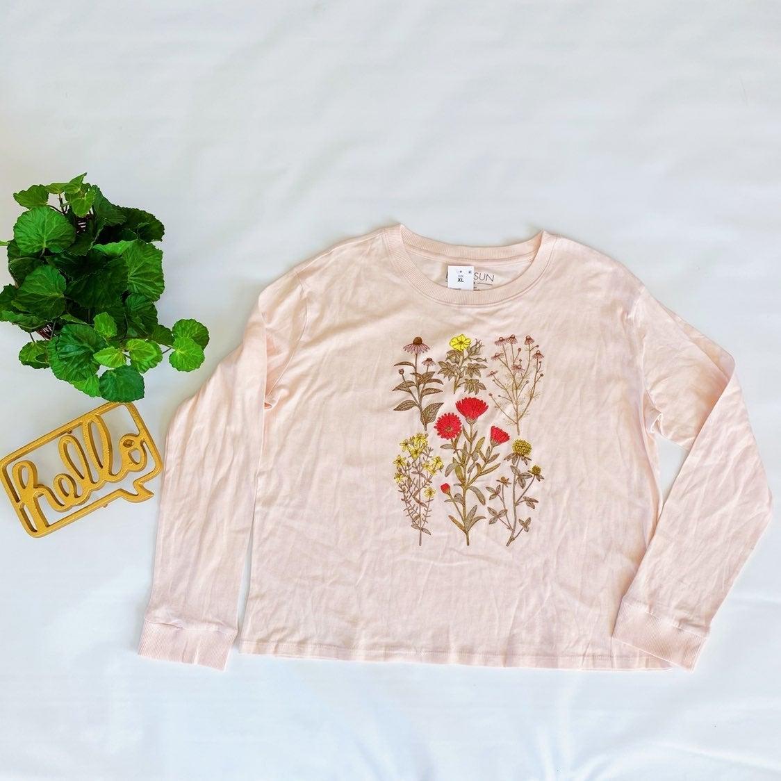 Fifth Sun WildFlower Long Sleeve Shirt