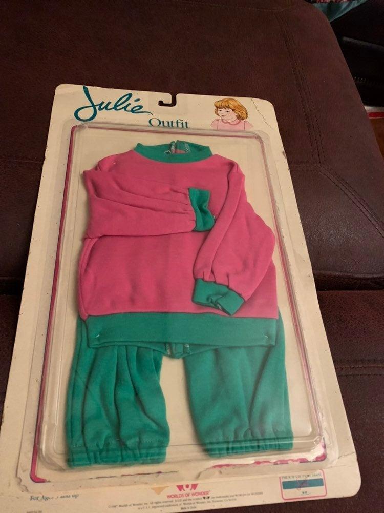Vtg Julie Interavtive Doll Outfit