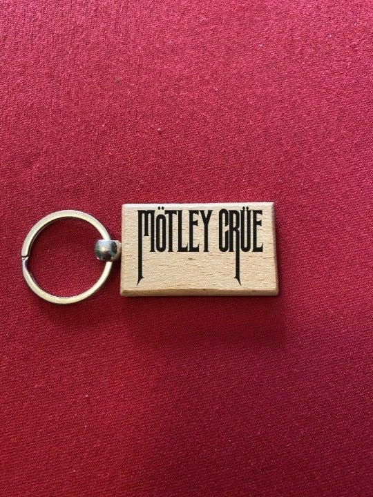 Motley Crue Engraved Key Chain