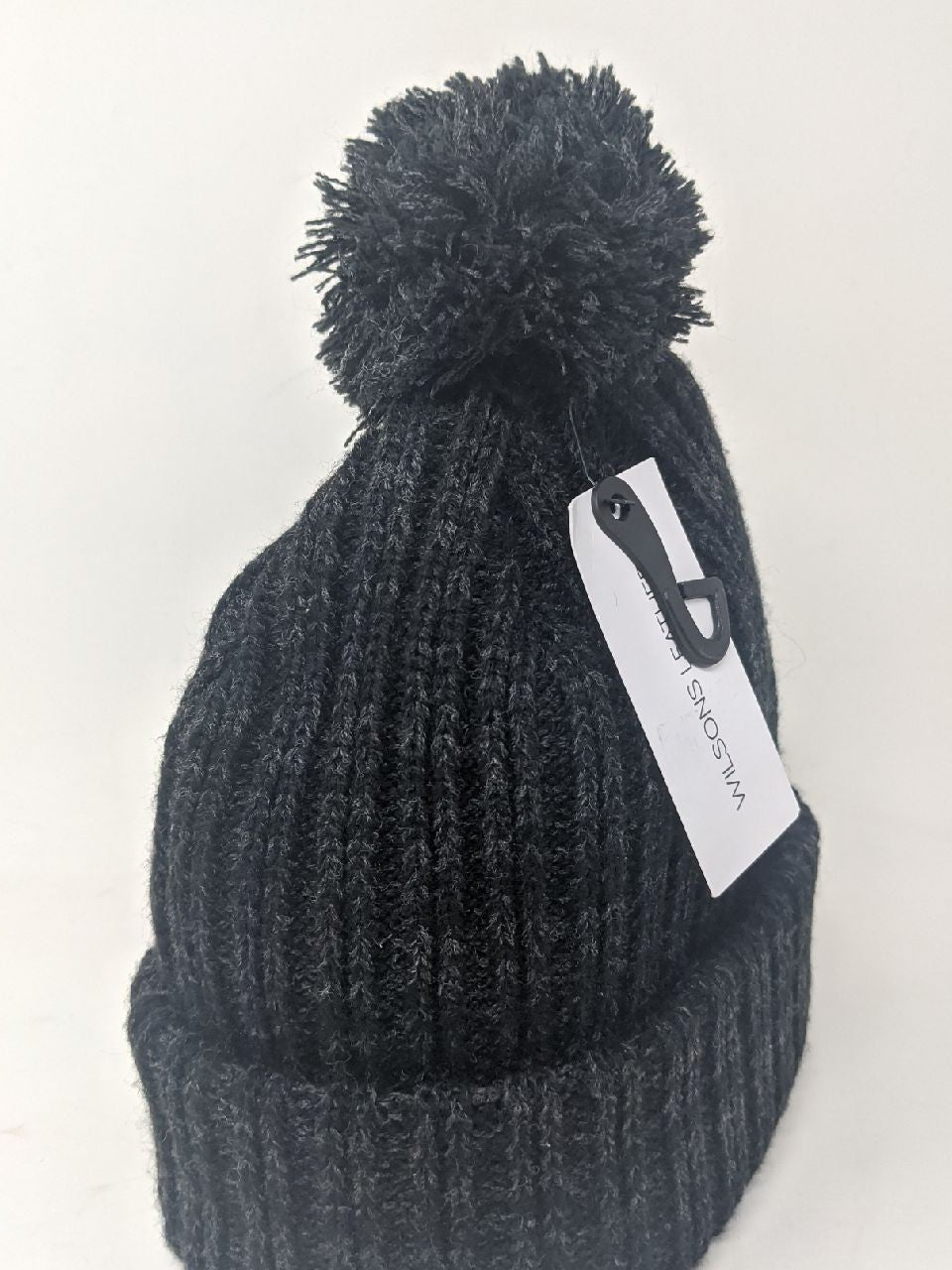 Wilson's Leather dark gray winter hat