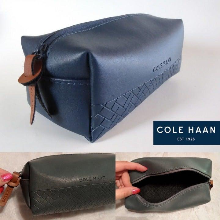 Cole Haan Toiletries or Makeup Bag NWOT