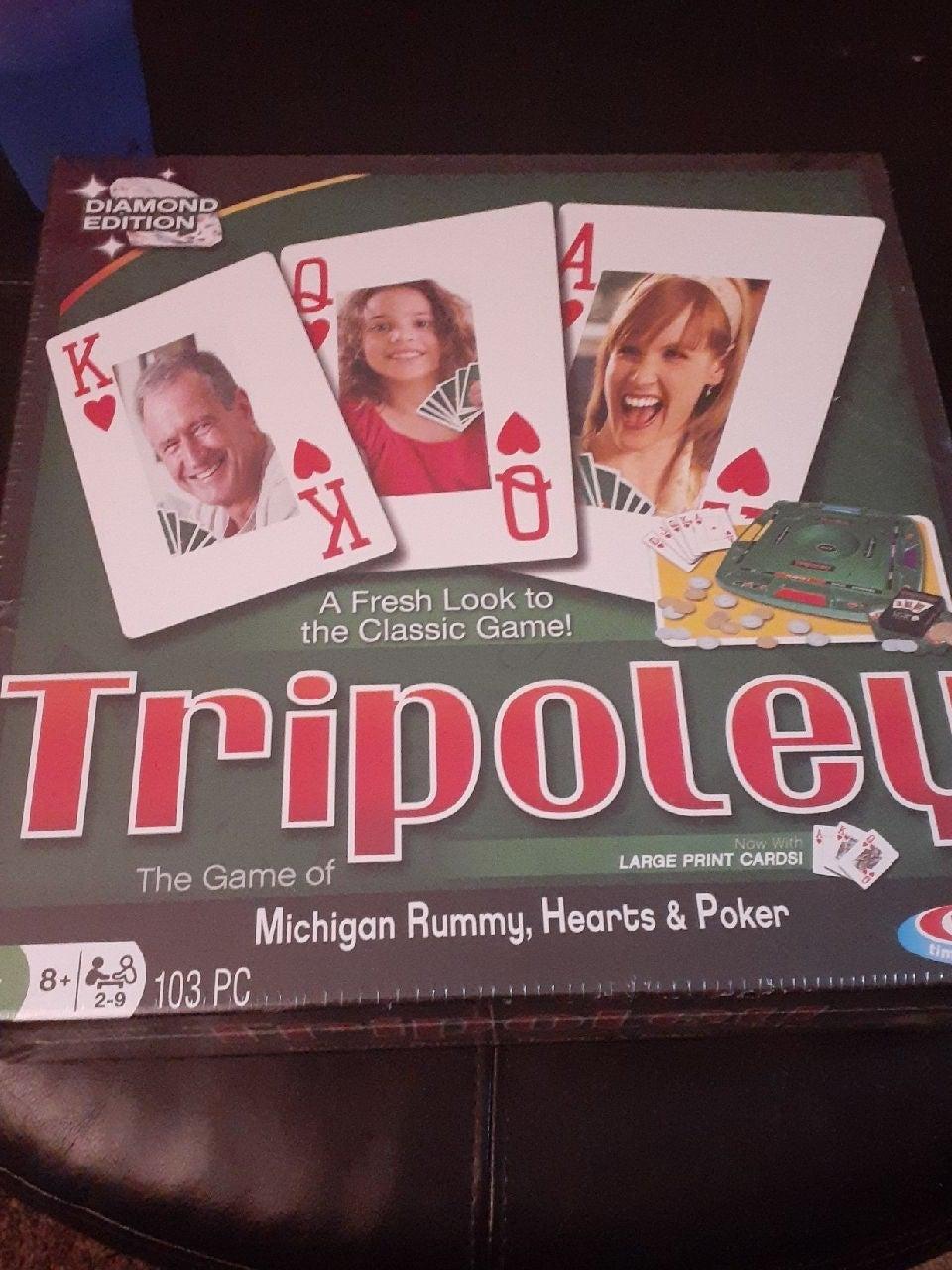 Tripoley Diamond Edition family game