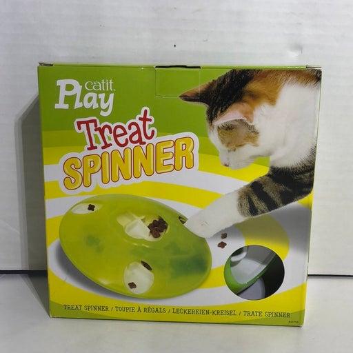 Cat Treat Spinner Toy