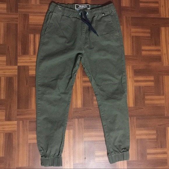 Pacson Green Joggers
