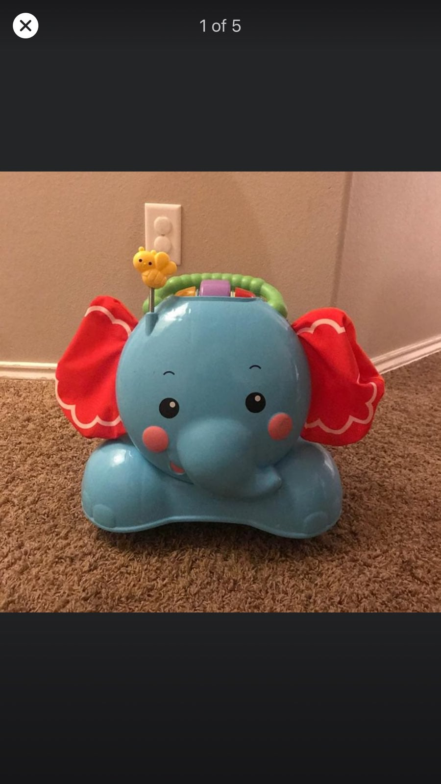 Fisher-Price 3-in-1 Bounce, Stride and R