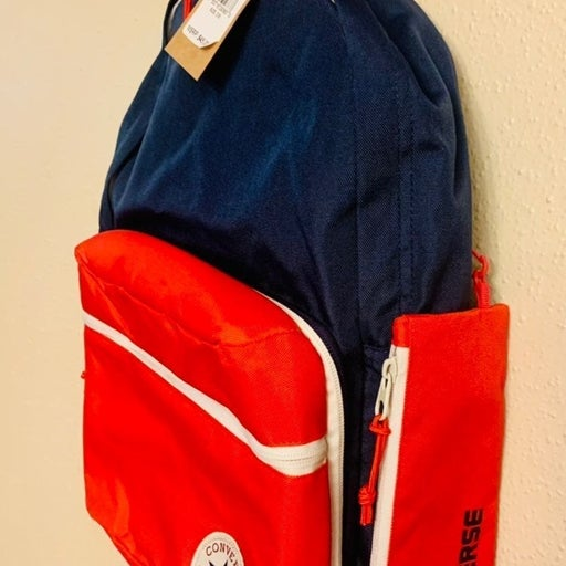 Converse Red Backpack .