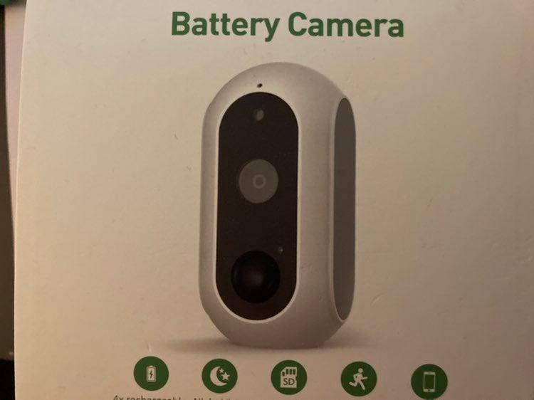 Surveillance cameras. Battery, wireless