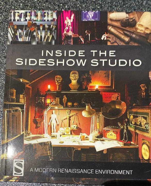 Inside Sideshow Studio soft cover book