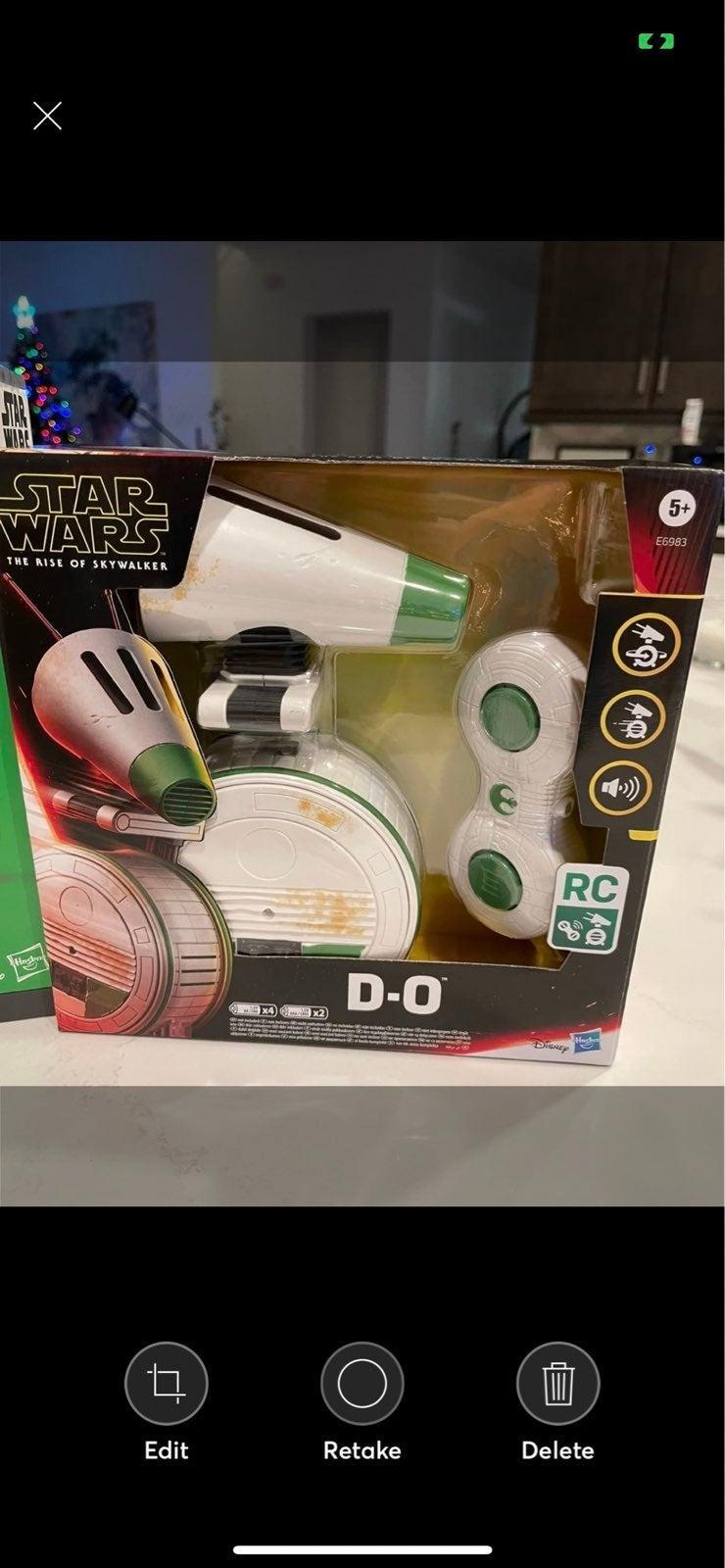 Star Wars R/C D-O droid New