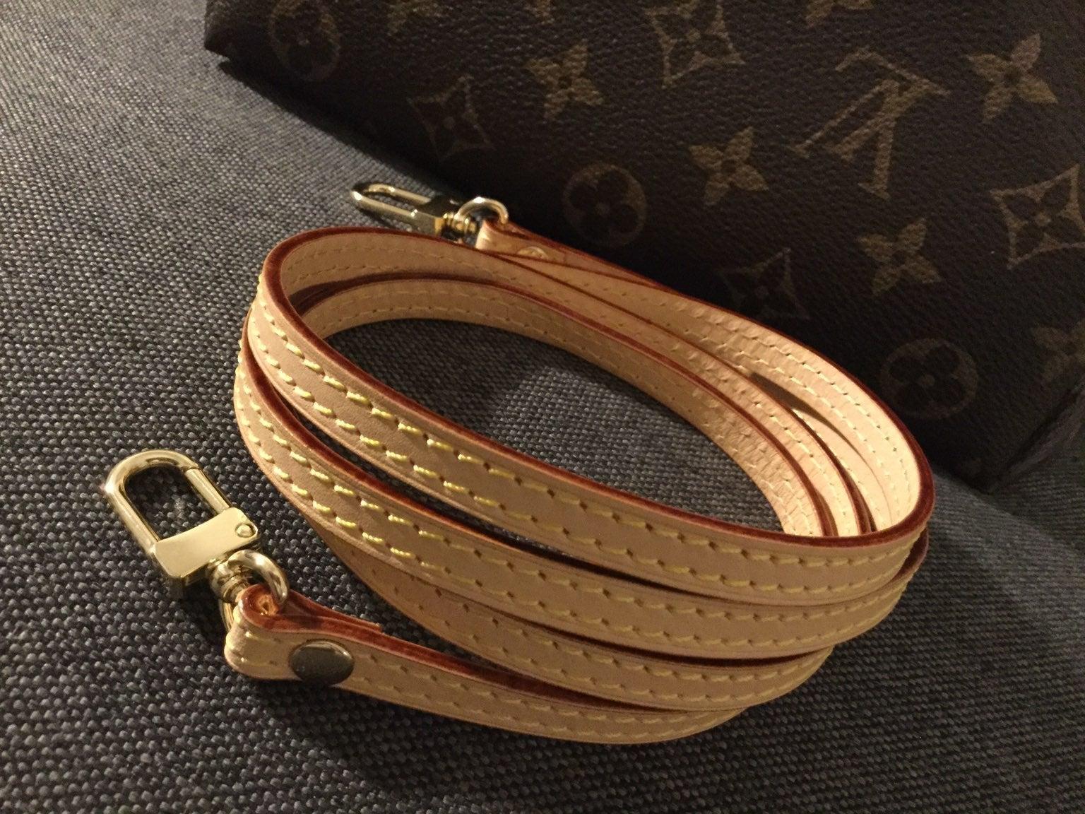 "Vachetta leather strap replacement 47.2"""