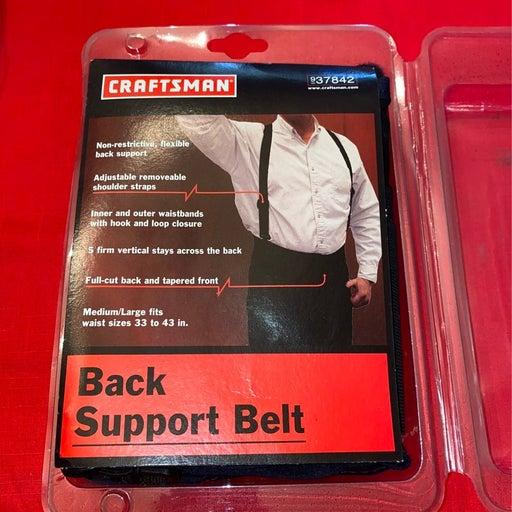 Craftsman Back Support Belt M/L