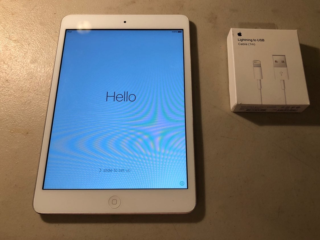 iPad mini 1st generation White & Silver