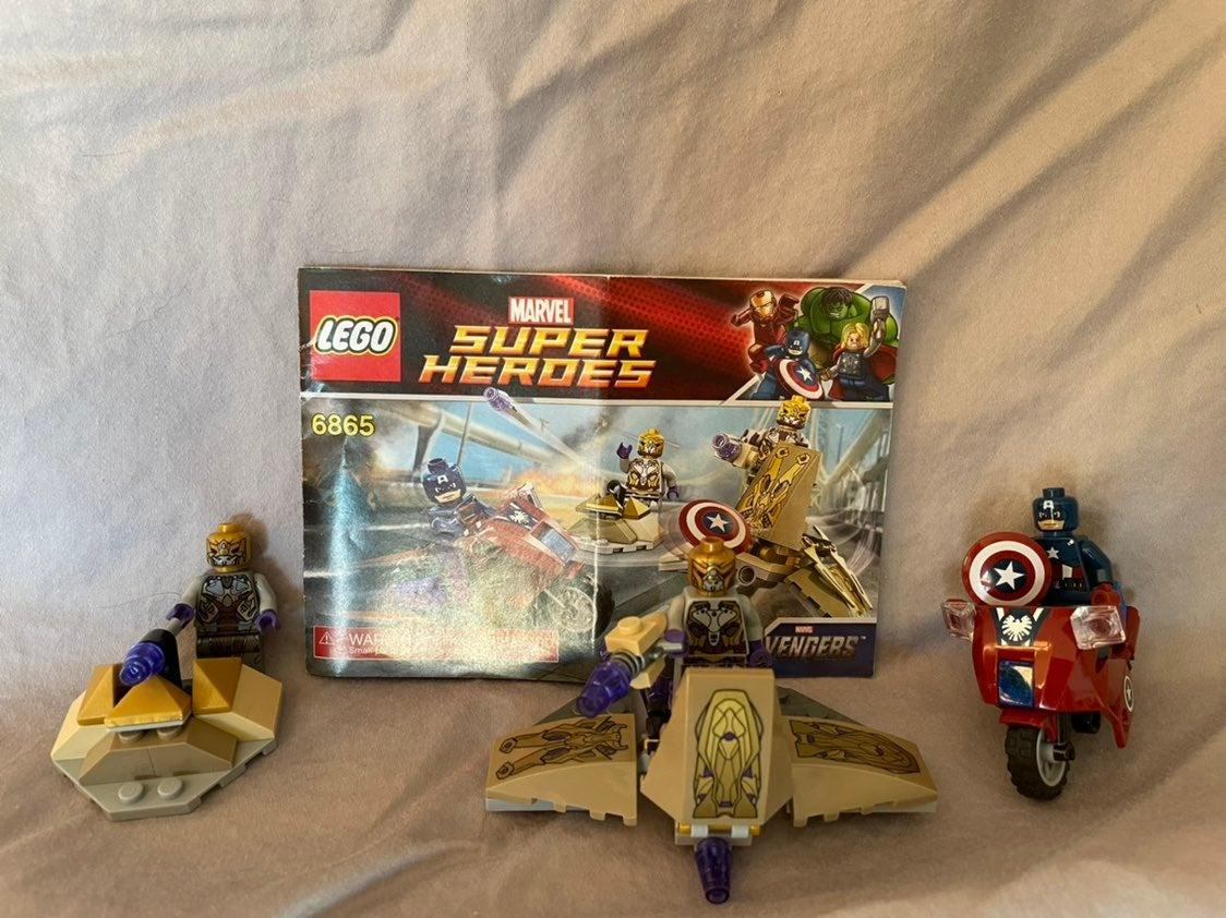 Lego 6865 Marvel Captain America's Cycle