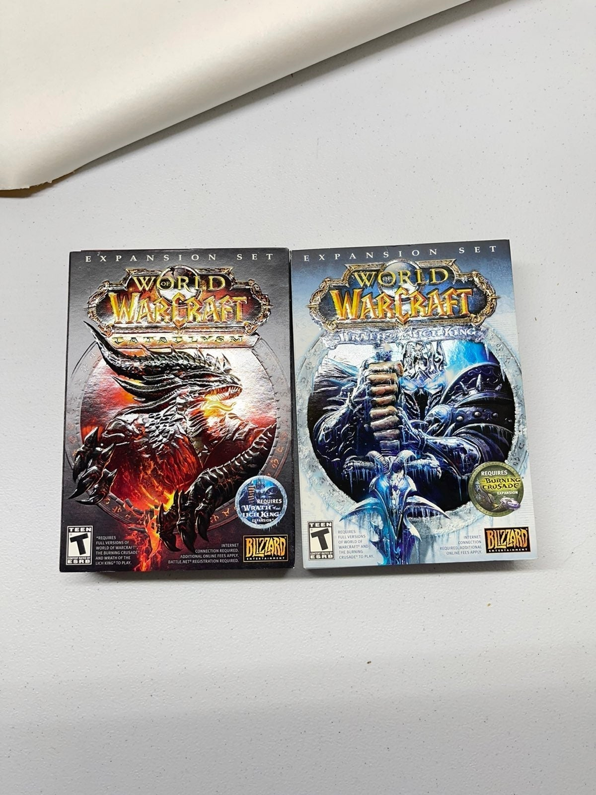World of Warcraft pc game collection