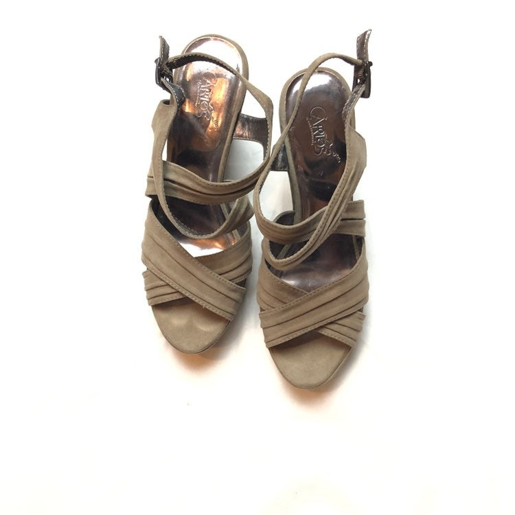 Carlos Santana Willow Wedge Sandals