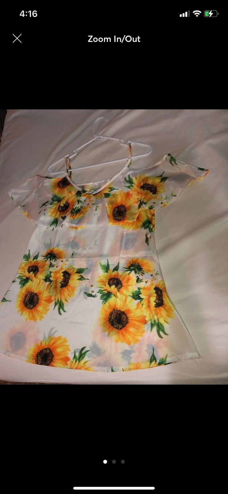 Yellow sunflower outfit bundle