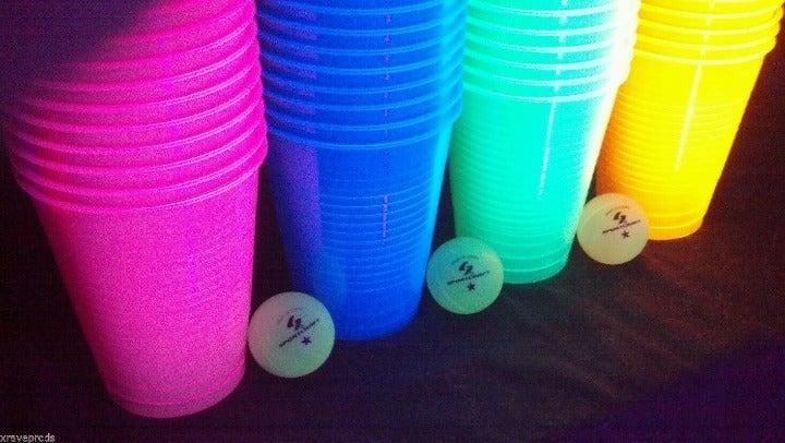 Blacklight Pong 4 Sets, one of ea -PRIV8