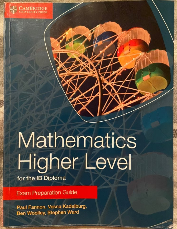 IB HL Math- Exam Prep (Cambridge)
