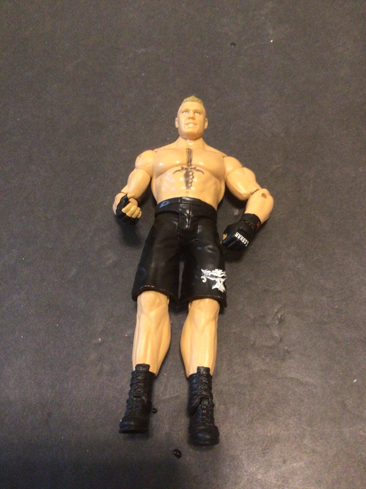 2012 WWE Brock Lesnar Wrestling Figure