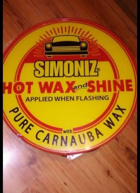 Industrial Car Wash Sign Simoniz