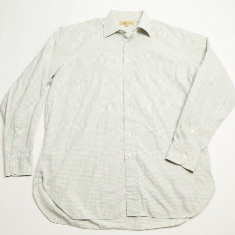 Paul Stuart Men Dress Shirt 16 Check