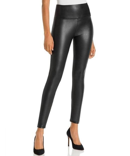 Bagatelle NYC Faux Leather Leggings Med