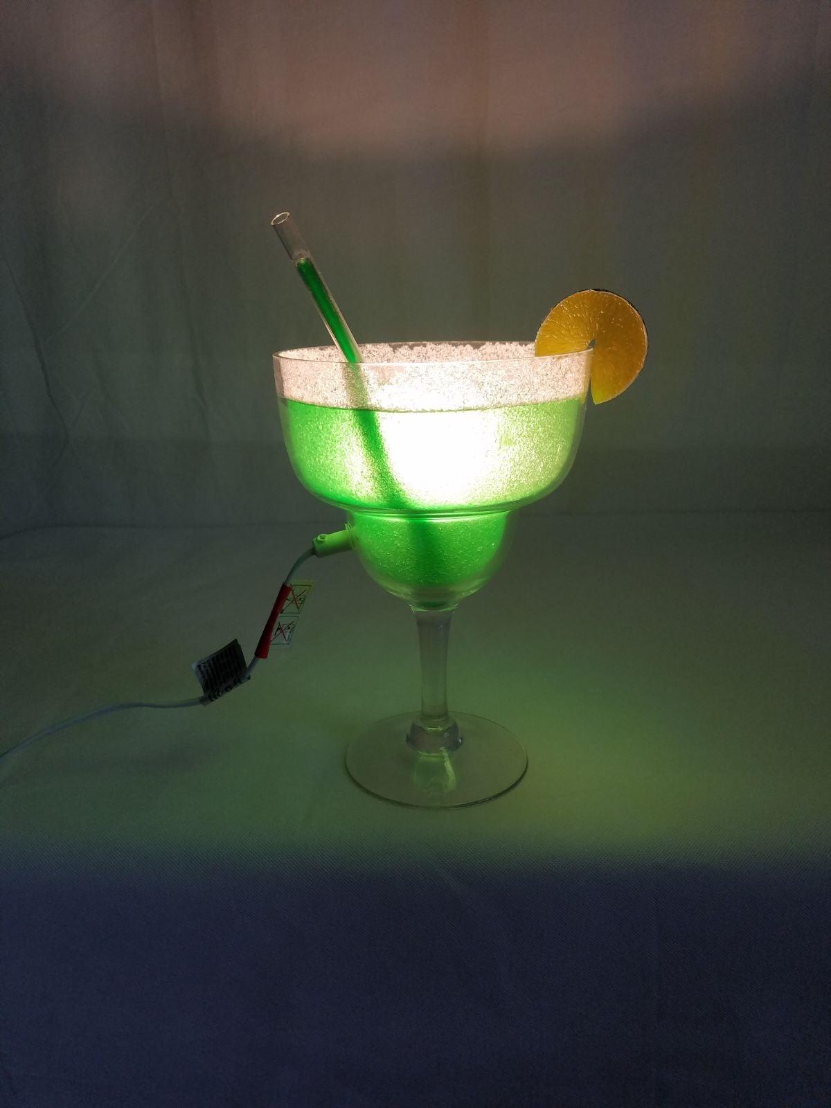 Novelty Margarita Lamp, Bar Decor