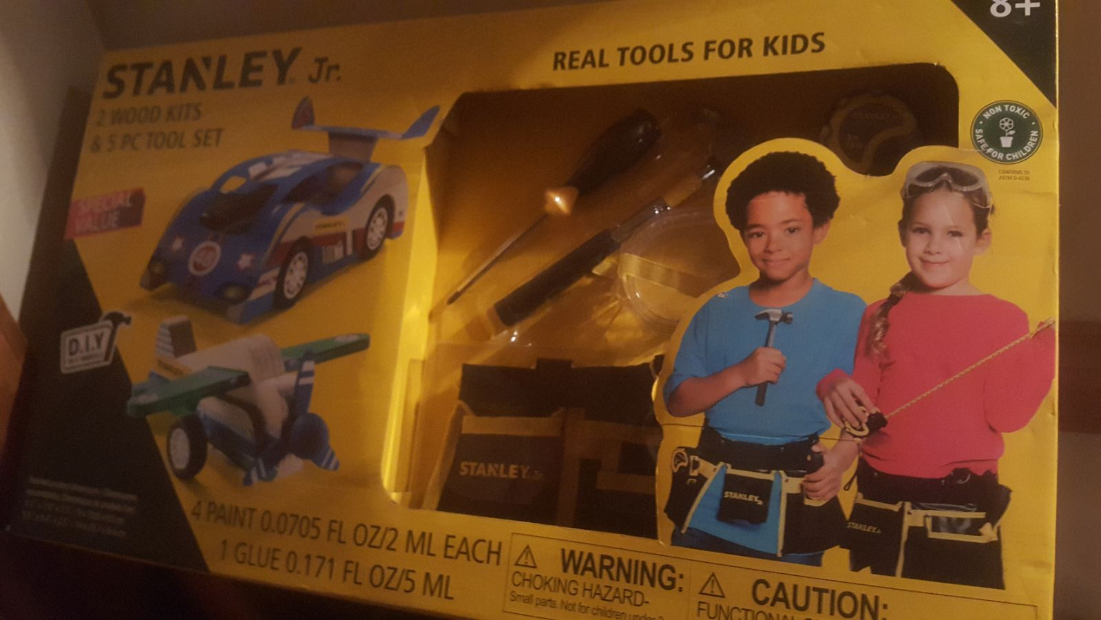 Stanley Jr real tools for kids