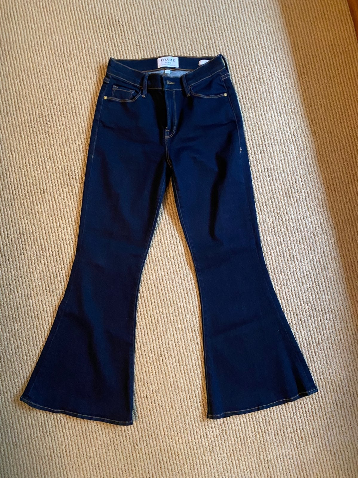 Frame size 26 Flare Jeans