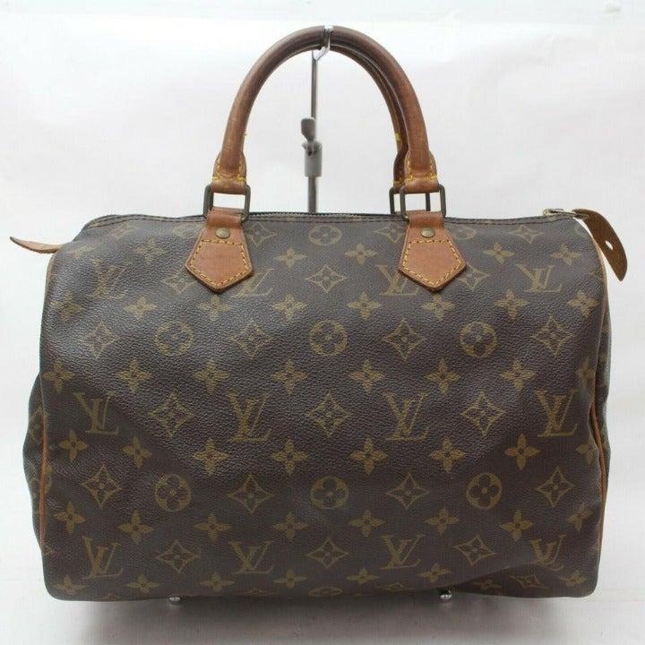 Louis Vuitton Monogram Speedy 30 Boston