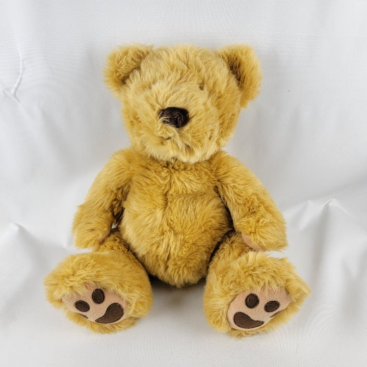 Russ Berrie Cubbs Fluffy Brown Teddy