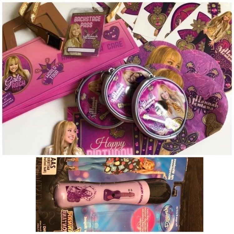 Hannah Montana Party Favor Bundle