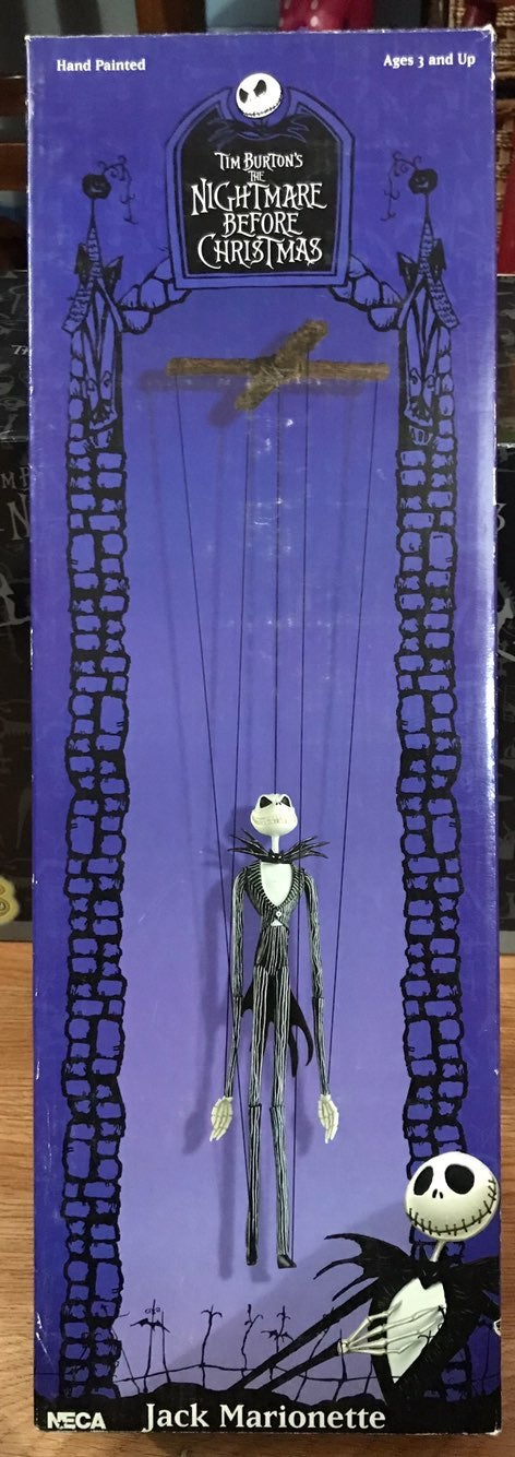 Jack and Sally Marionette puppets