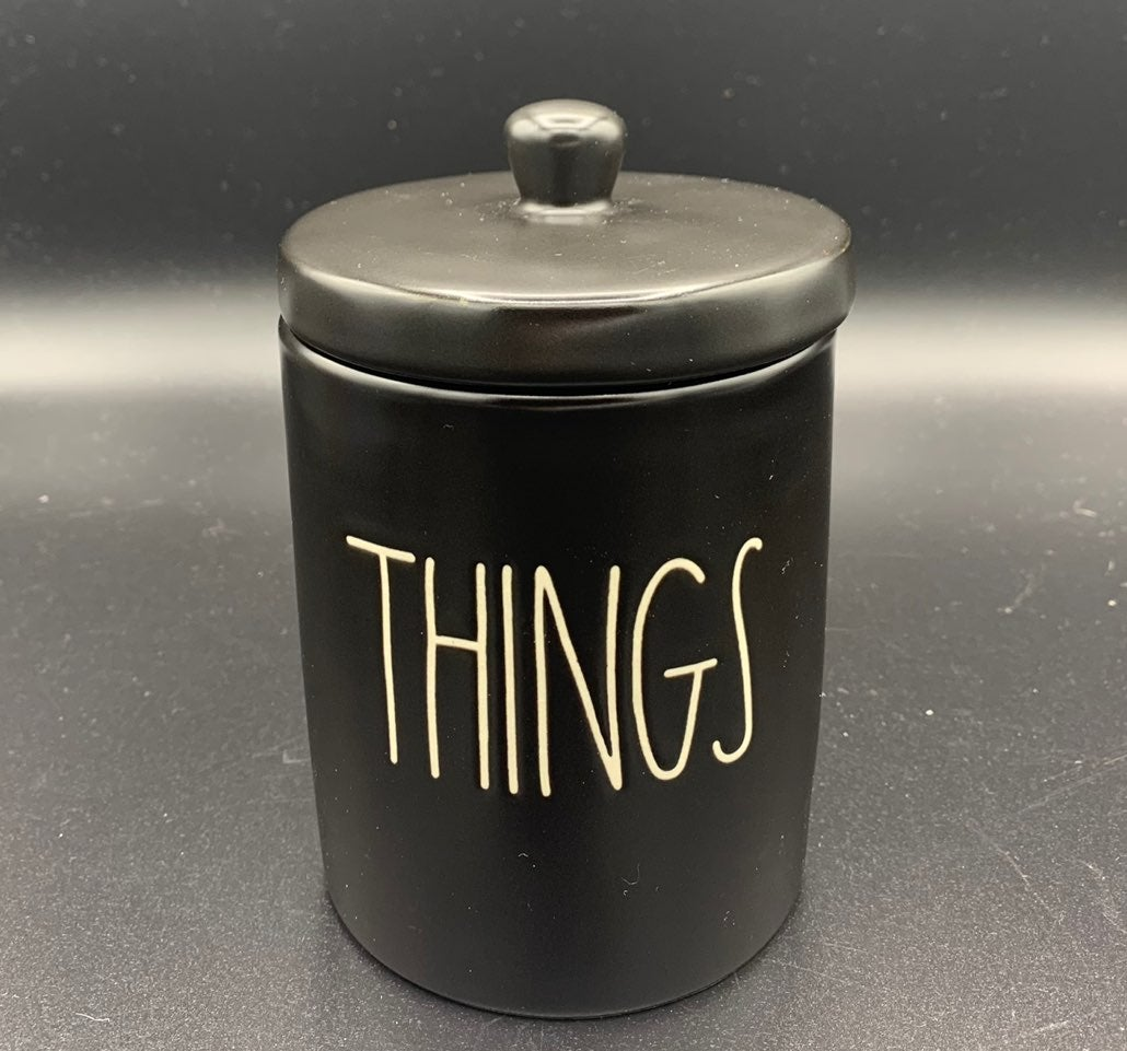 Rae Dunn THINGS Container