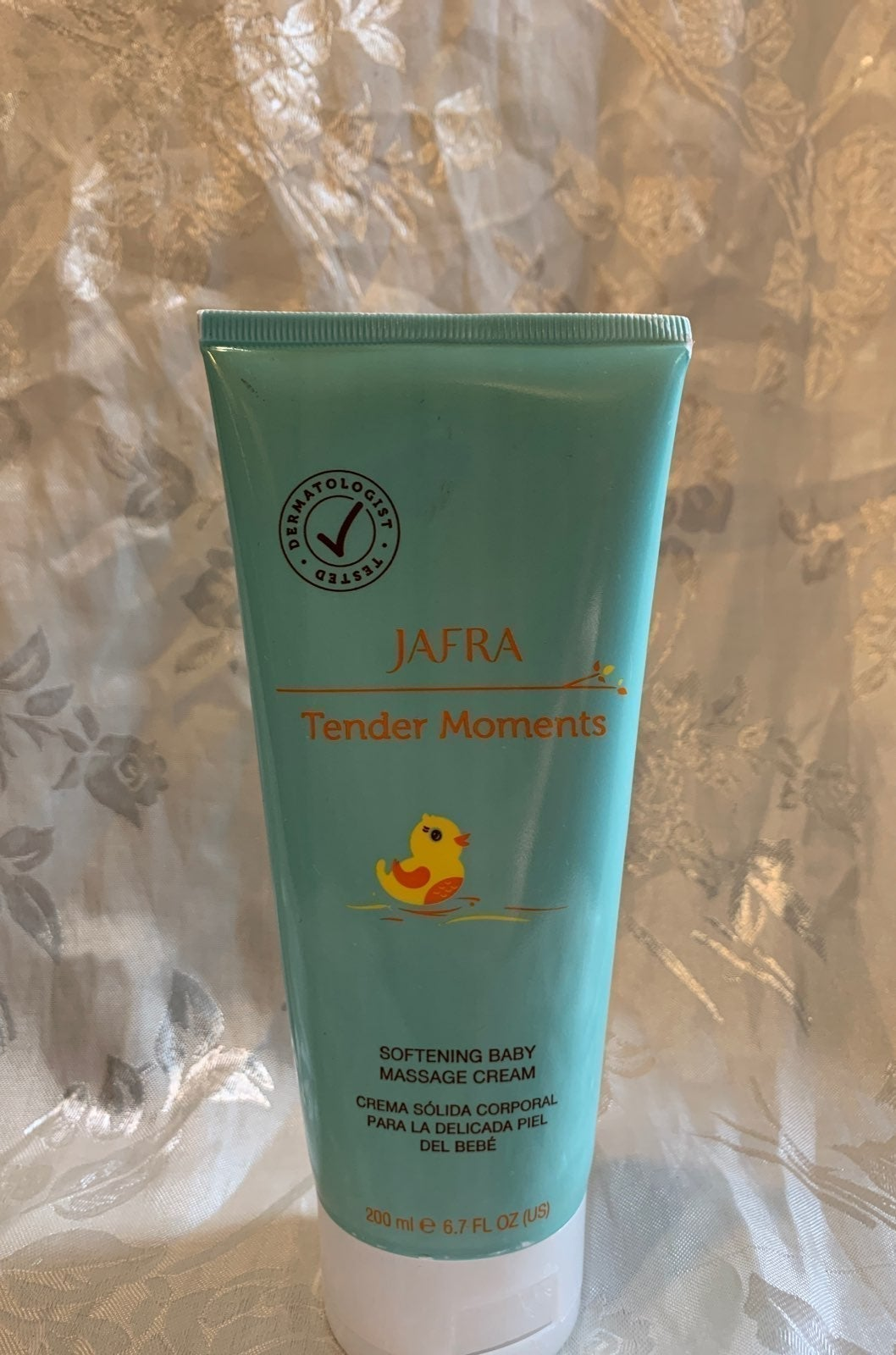 Baby massage cream