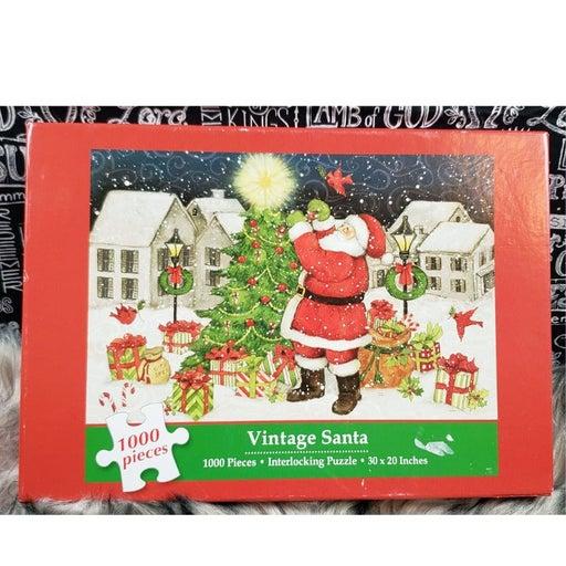 Current Vintage Santa 1000 Piece Puzzle