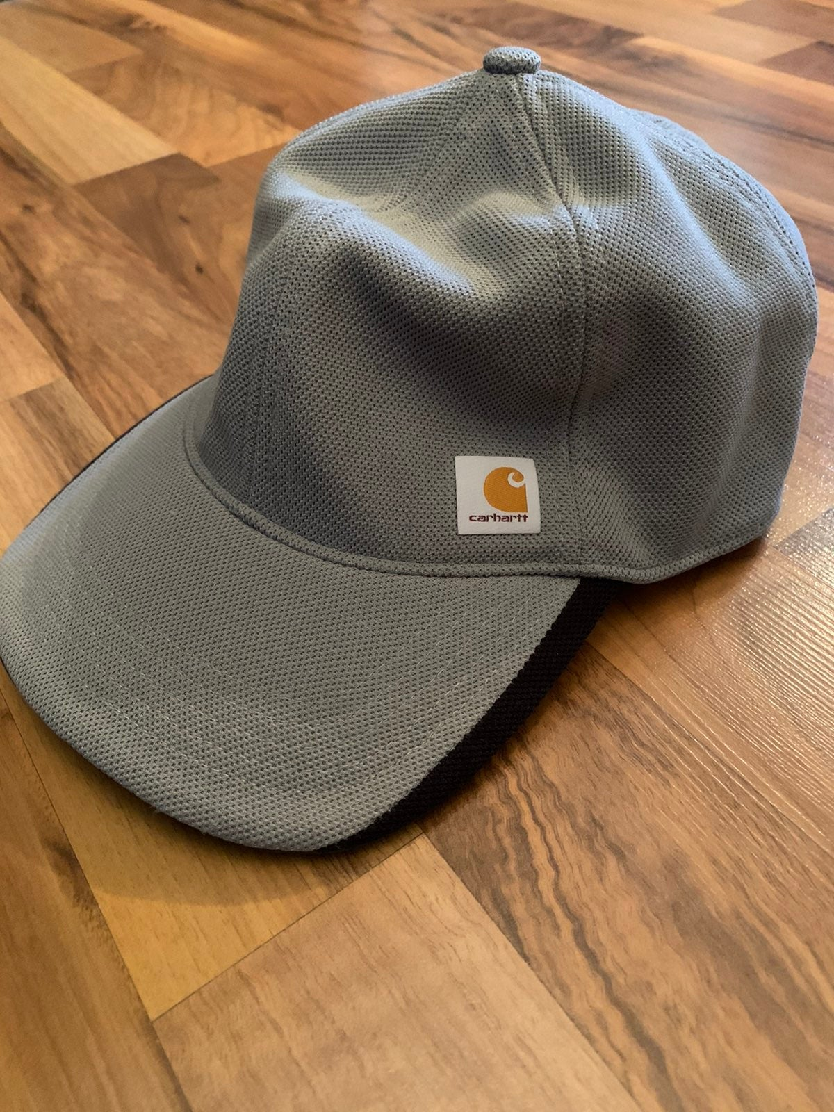 CARHARTT FITTED HAT GRAY BASEBALL FORCE