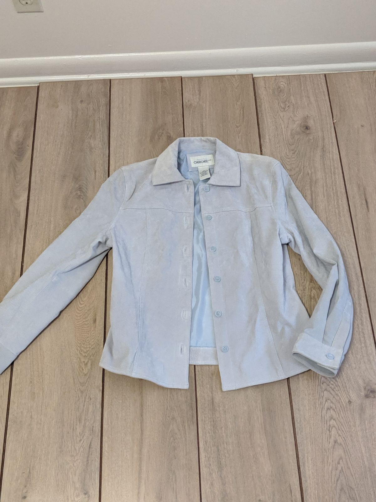 Suede Leather Jacket- New without tags
