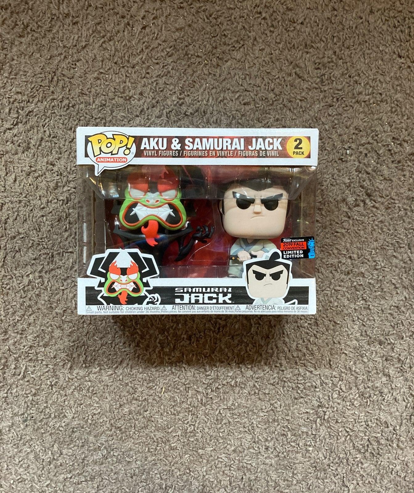 Funko POP Aku & Samurai Jack 2 pack