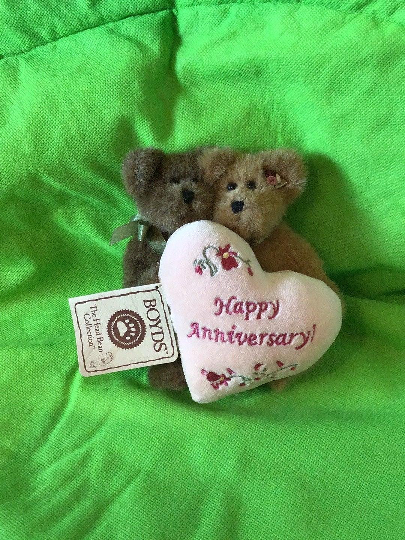 "Boyds Bears ""Happy Anniversary"" (NWT)"