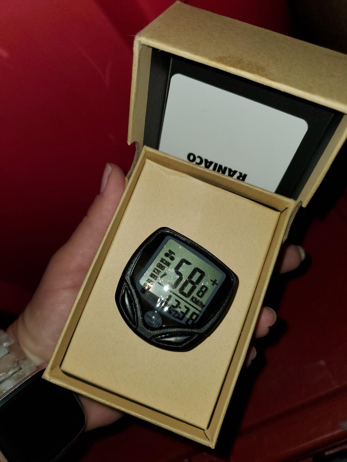New! Bike odometer!