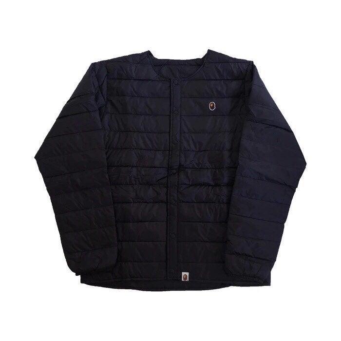 BAPE Black Lightweight Down Jacket