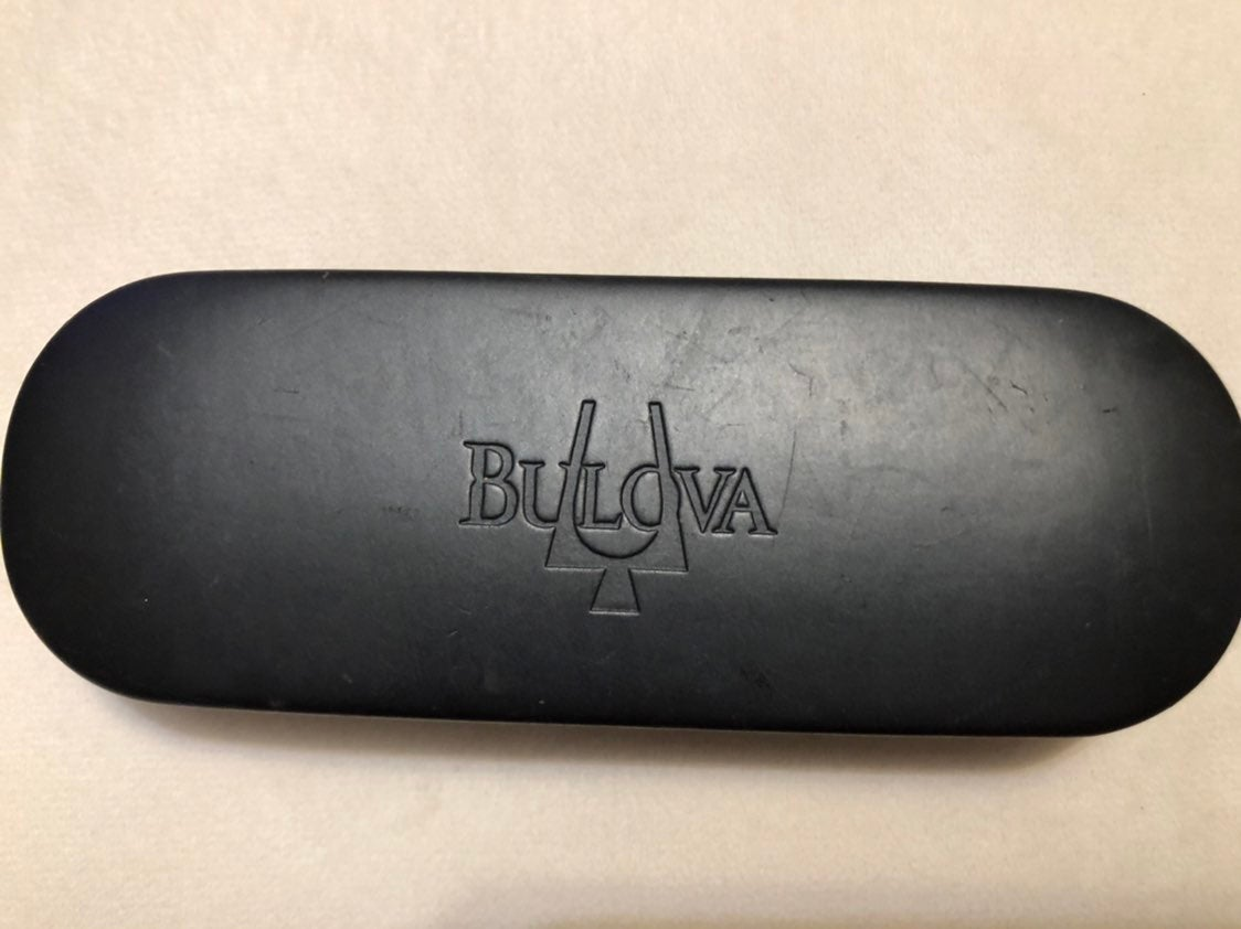 Bulova sunglasse case